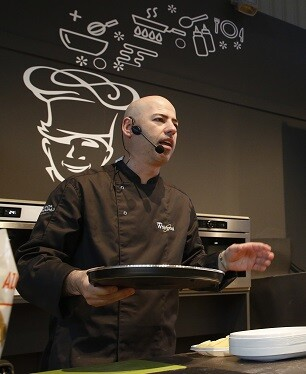 El chef Manuel Vegas.