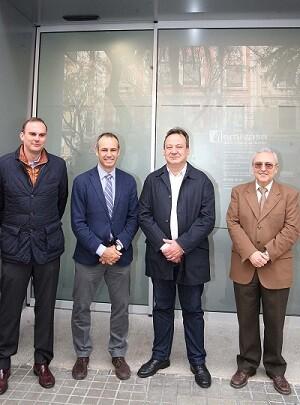 El concejal del Ciclo Integral del Agua, Vicent Sarrià, ha visitado hoy las nuevas instalaciones.