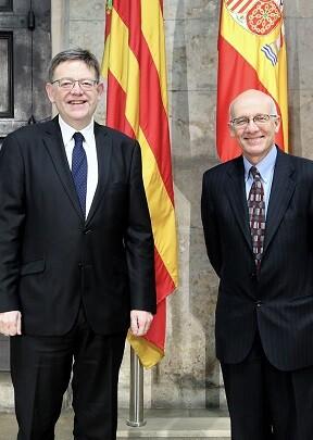 El jefe del Consell se ha reunido con el embajador de Canadá en España y en el Principado de Andorra, Matthew Levin.