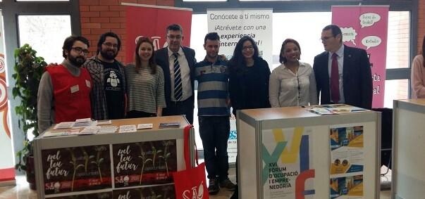 Enric Morera, ha participado esta mañana en la inauguración del XVI Foro del Empleo y la Emprendeduría.