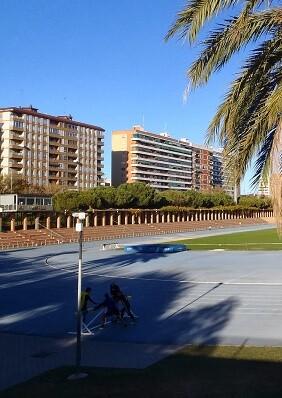 Este fin de semana se celebra el Gran Premio de Atletismo Ciudad de Valencia en el Palau Velòdrom Lluís Puig.