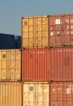 Exportaciones en el puerto de Valencia.