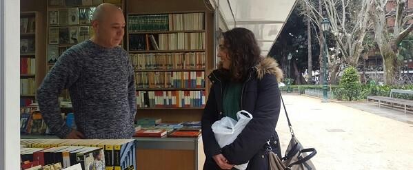 Feria del Libro Antiguo y de Ocasión.