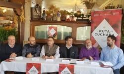 Francesc Colomer, Manuel Espinar, CONHOSTUR Mario Sánchez (Requena), Fernando Benlliure (Utiel), Santiago Mas (Siete Aguas) y Alejandro Portero (Chera) (2)