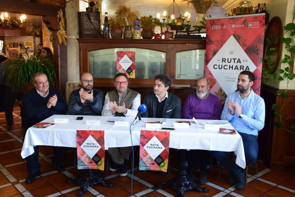 Francesc Colomer, Manuel Espinar, CONHOSTUR Mario Sánchez (Requena), Fernando Benlliure (Utiel), Santiago Mas (Siete Aguas) y Alejandro Portero (Chera) (9)
