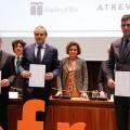 Hidraqua, Aigües d'Elx y Agamed reciben el Certificado EFR por su compromiso con la conciliación familiar.