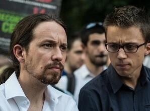 Iglesias y Errejón en una foto de archivo.