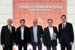 """Jorge Rodríguez """"La Diputación de Valencia es el ejemplo de que se puede aumentar la financiación a los municipios"""". (Foto-Abulaila)."""