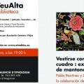 La Biblioteca del Museu Valencià d'Etnologia debate 'En Veu Alta' sobre indumentaria y el mantón de Manila