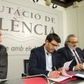 La Diputación ayudará a la Federación de Sociedades Musicales a profesionalizar el sector y agilizar las ayudas. (Foto-Abulaila).