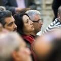 La Diputación se suma al acto de homenaje a las víctimas del Bombardeo de Xàtiva de 1939. (Foto-Abulaila).