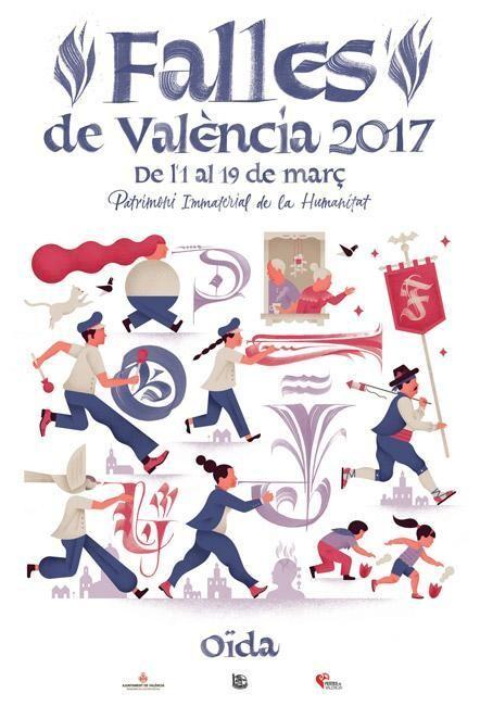 La Fiesta de los Sentidos imagen de las #Fallas 2017 #SomPatrimoni #CridaFalles17 (2)