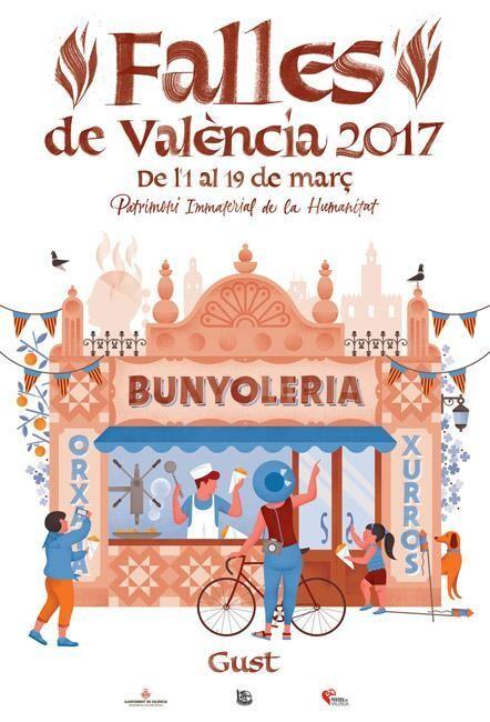 La Fiesta de los Sentidos imagen de las #Fallas 2017 #SomPatrimoni #CridaFalles17 (4)