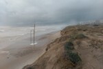 La Generalitat destina 4.330.000 euros a la recuperación de las infraestructuras turísticas del litoral tras los efectos del temporal. (Playas)