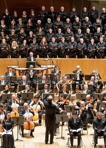 La OV interpretando a Beethoven.