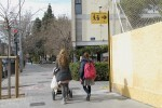 La movilidad escolar gana espacio en Patraix con dos rutas con nueva señalización.