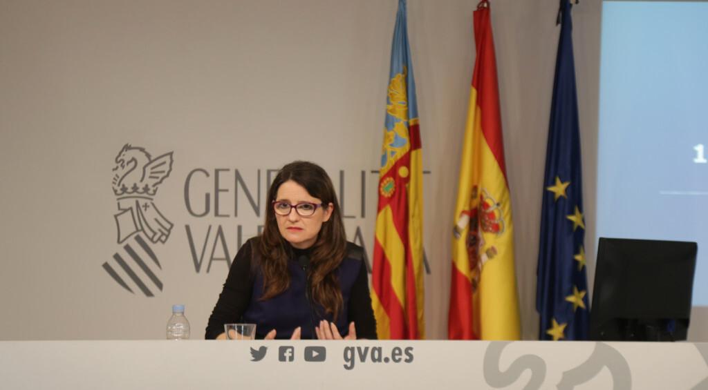 La vicepresidenta y consellera de Igualdad y Políticas Inclusivas, Mónica Oltra