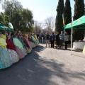 Las Falleras Mayores de València presentan la primera mascletàde las Fallas disparada por un aficionado, este martes 28 (2)
