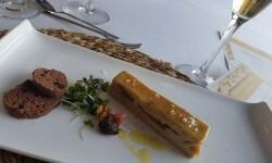 Lingote de foie micuit, hígado de pato graso semicocido y manzana caramelizada (11)