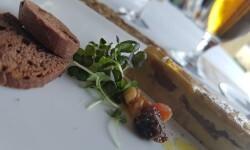 Lingote de foie micuit, hígado de pato graso semicocido y manzana caramelizada (5)