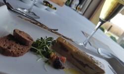 Lingote de foie micuit, hígado de pato graso semicocido y manzana caramelizada (7)