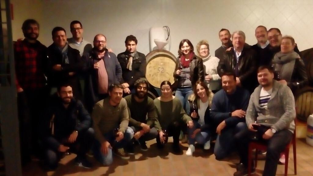Los alumnos del Máster de Sumiller que imparte la DOP Valencia elaboraron su vino propio vino (1)