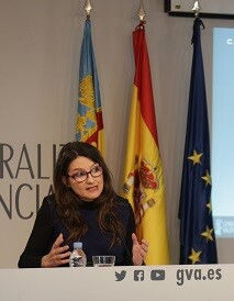 Mónica Oltra,vicepresidenta y portavoz del Consell.