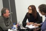 """Maria Josep Amigó-""""Ante la infrafinanciación del Estado apoyamos a la comarca del Camp de Morvedre con 1,5 millones de euros"""". (Foto-Abulaila)."""