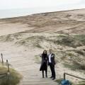 """Maria Josep Amigó-""""La Diputación ayudará a los Ayuntamientos a recuperar y conservar las playas del litoral valenciano"""". (Foto-Abulaila)."""