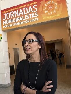 Maria Josep Amigó en Jornadas municipalistas 'Por una financiación Justa'. (Foto-Abulaila).