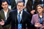 Mariano Rajoy es reelegido presidente del Partido Popular con el 95,65 por ciento de los votos.