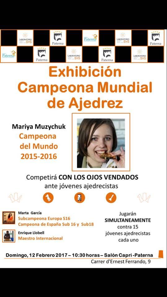 Mariya Muzychuk exhibición