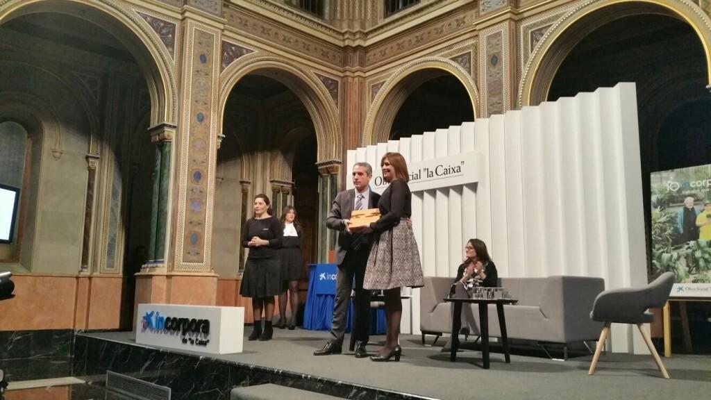 Mercedes Pérez Berlanga, vecina de Alboraya, recibió el premio Emprendedor Incorpora de la Caixa (1)
