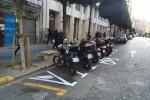 Mobilidad Sostenible activará hoy todas las plazas de motos en calzada de la calle Colón y el viernes las del entorno de la Estación del Norte.