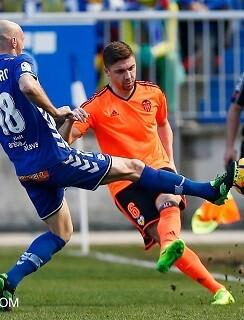 No puedo el Valencia CF remontar el partido. (Foto-Lázaro de la Peña).