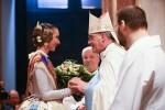 Ofrenda a la Patrona por la fiesta de las Fallas