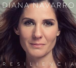 Portada del CD de Diana Navarro, 'Resilencia'.