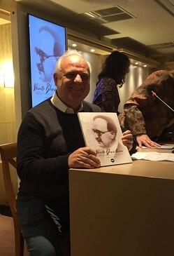Rafael Solaz durante la presentación del catálogo. (Foto-joana Chilet).