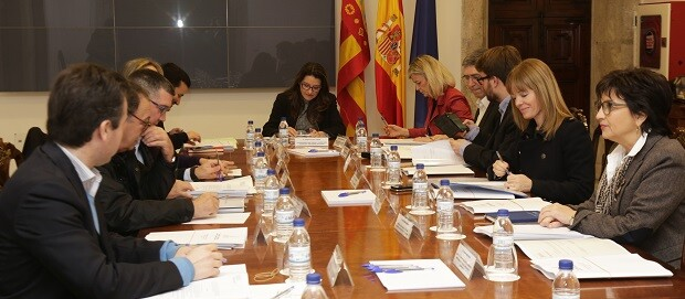 Reunión de la Comisión delegada de Inclusión y Derechos Sociales.