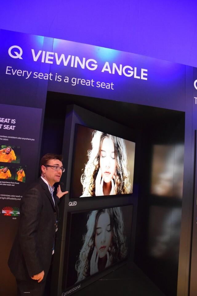 Samsung muestra sus novedades del año en el Forum - Booth de Barcelona (60)