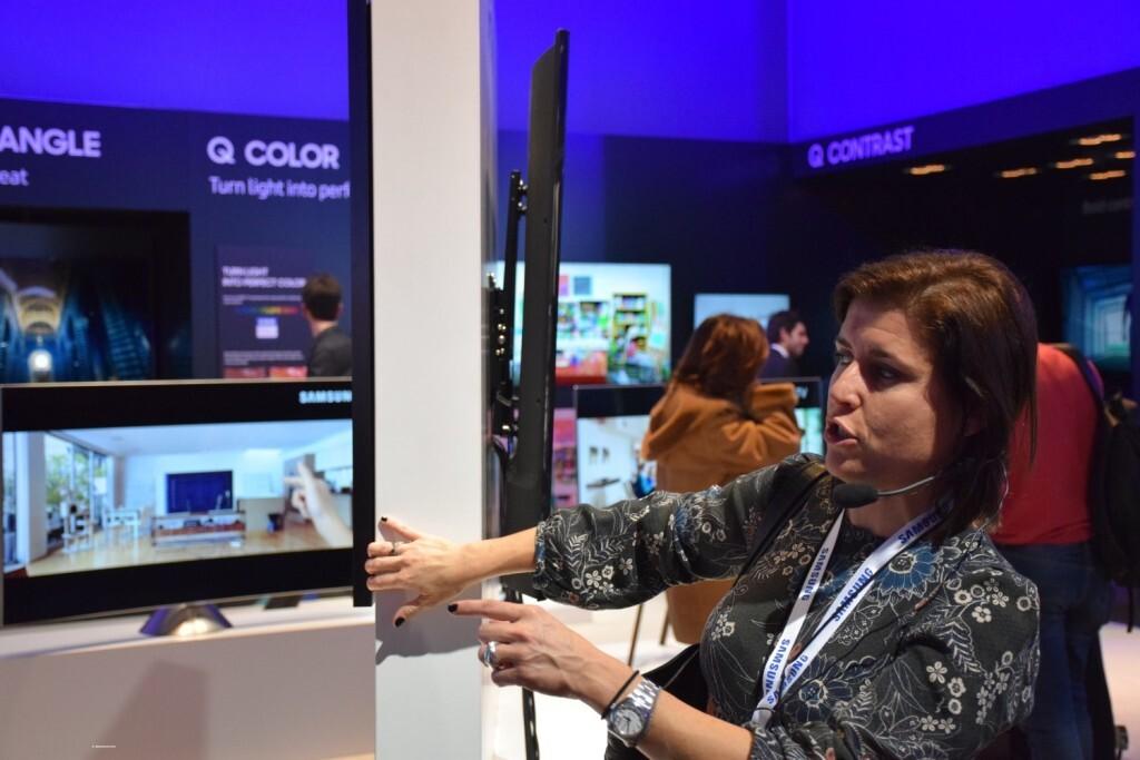 Samsung muestra sus novedades del año en el Forum - Booth de Barcelona (63)