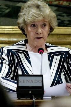 Soledad Becerril en una imagen de archivo.