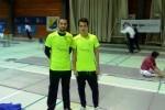 Toni Carles y Fran Valero de Esgrima Marítim certifican su clasificación para el Campeonato de España Junior.