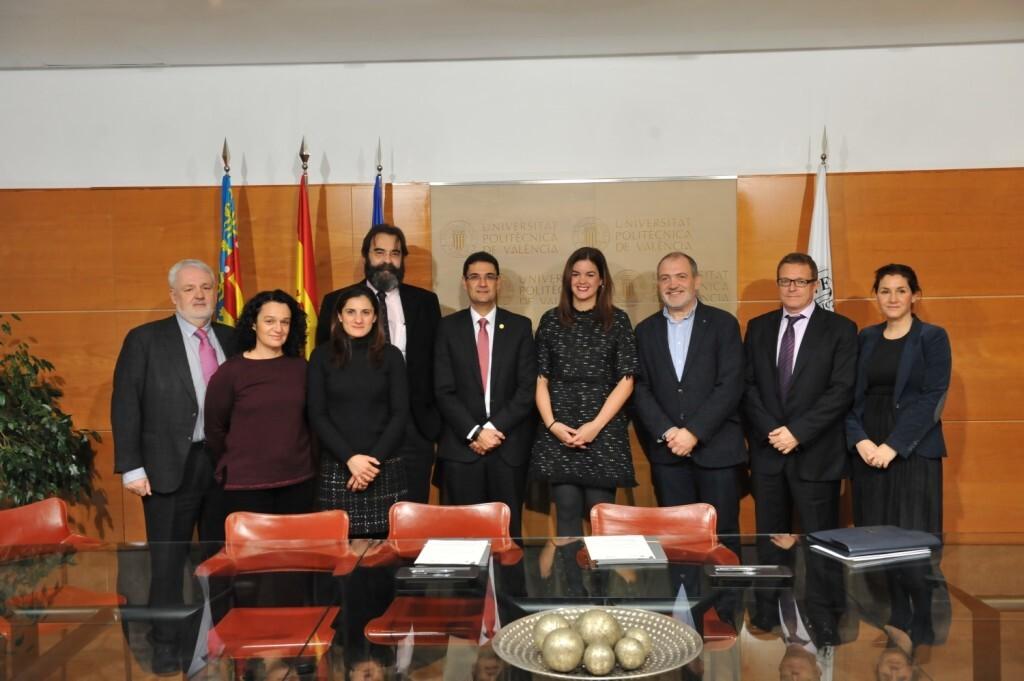 Turismo Valencia y la Universitat Politècnica de València colaborarán en la promoción de la ciudad como destino de reuniones y congresos