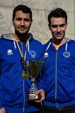 Valero y Toni Carles finalizó el campeonato en quinta posición. (Foto-Eva Pavía).