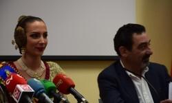 fallera mayor de Valencia, Raquel Alario Nit del Espolín', un espectáculo que unirá la artesanía sedera y la pirotécnia (10)