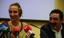 fallera mayor de Valencia, Raquel Alario Nit del Espolín', un espectáculo que unirá la artesanía sedera y la pirotécnia (13)