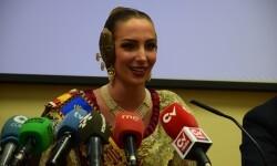 fallera mayor de Valencia, Raquel Alario Nit del Espolín', un espectáculo que unirá la artesanía sedera y la pirotécnia (15)