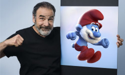 Mandy Patinkin voices Papa Smurf in Columbia Pictures and Sony Pictures Animation's GET SMURFY.