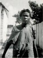 Foto de la mujer aparecida en 1936 a la que se identificó como Felicia Felix-Mentor, creyendo que era una zombi.